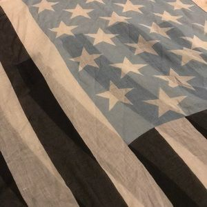 American flag scarf (or wall tapestry)